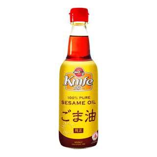 Knife 100% Pure Sesame Oil