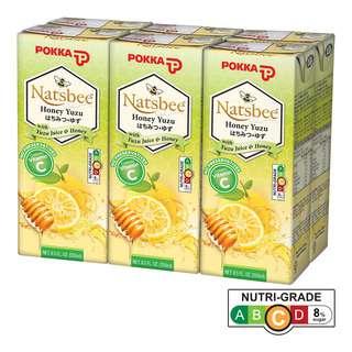 Pokka Packet Drink - Natsbee Honey Yuzu