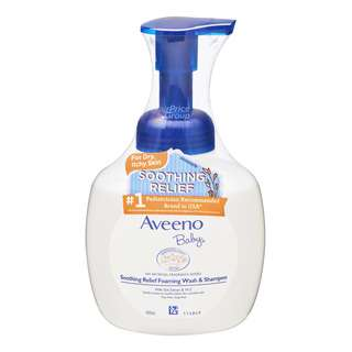 Aveeno Baby Soothing Relief Foaming Wash & Shampoo