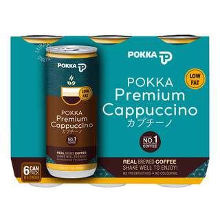 Pokka Coffee Can Drink - Premium Cappuccino