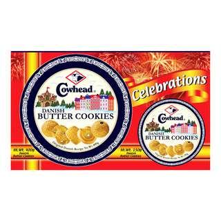 Cowhead Danish Butter Cookies