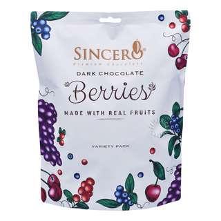 Sincero Premium Dark Chocolate - Assorted Berries