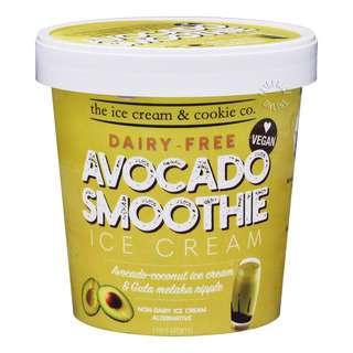 The Ice Cream & Cookie Co. Dairy Free Ice Cream-AvocadoSmoothie