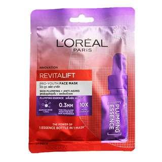 L'Oreal Paris Revitalift Pro-Youth Face Mask - Plumping
