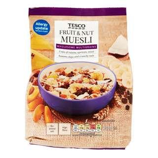 Tesco Muesli - Fruit & Nut