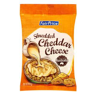 FairPrice Cheese - Cheddar (Shredded)
