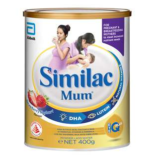 Abbott Similac Mum Low Fat Maternal Milk Powder - Strawberry