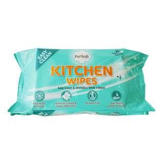 PurSoft Kitchen Wet Wipes