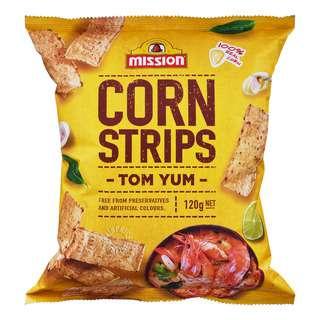 Mission Corn Strips Chips - Tom Yum
