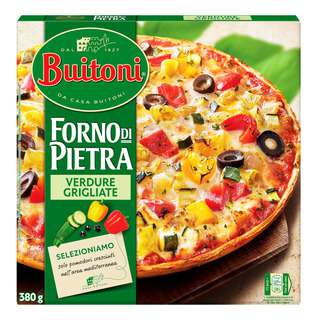 Buitoni Thin Crust Pizza - Grilled Vegetables