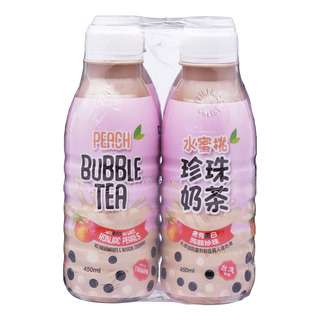Polar Bubble Tea Bottle Drink with Konjac Jelly - Peach
