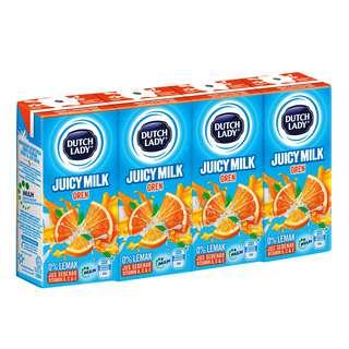 Dutch Lady Juicy Milk - Orange
