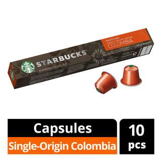 Starbucks Nespresso Coffee Capsules - Colombia