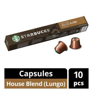 Starbucks Nespresso Coffee Capsules - House Blend (Lungo)