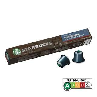 Starbucks Nespresso Coffee Capsules - Espresso Roast (Decafinated)