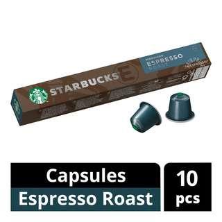Starbucks Nespresso Coffee Capsules - Espresso Roast