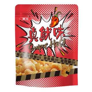 Hwa Yuan Zhen You Wei Cuttlefish Crackers - Hot Spicy