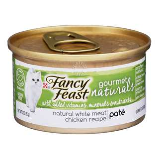 Fancy Feast Gourmet Naturals Cat Food - White Meat Chicken (Pate)