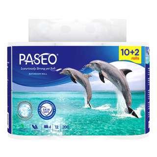Paseo Bathroom Tissue Roll - 4Ply