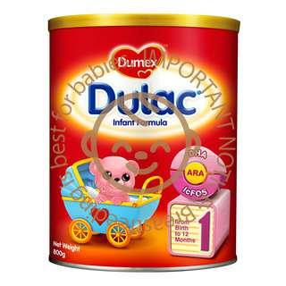 • Contains DHA, ARA, lcFOS