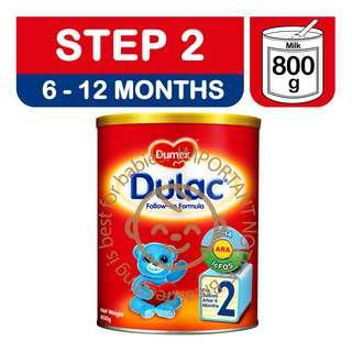 Dumex Dulac Infant Milk Formula - Step 2