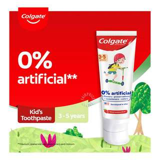 Colgate Kids Toothpaste - Natural Strawberry (3 - 5 Years)