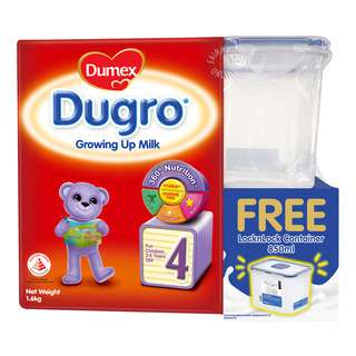 Dumex Dugro Growing Up Milk - Step 4 + Container