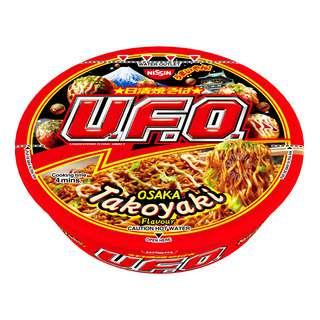 Nissin UFO Instant Cup Noodles - Osaka Takoyaki