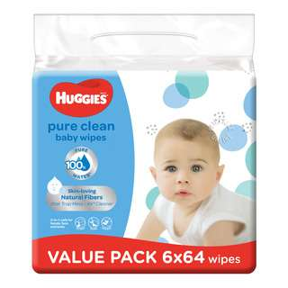 Huggies Baby Wipes - Pure Clean