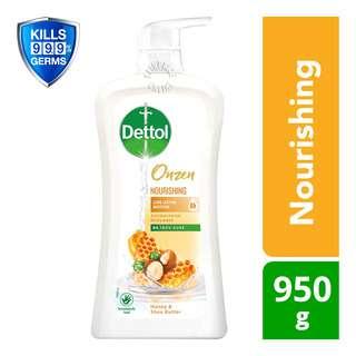 Dettol Onzen Antibacterial Body Wash - Nourishing