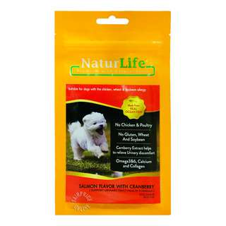 Naturlife Dog Snack - Salmon Flavor with Cranberry