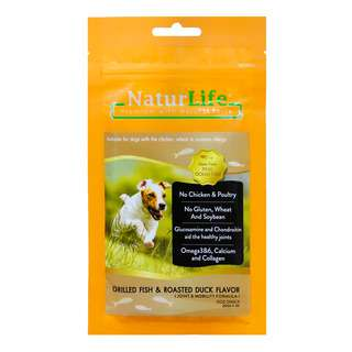 NaturLife Dog Snack - Grilled Fish & Roasted Duck