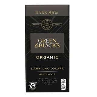 Green & Black's Organic Dark Chocolate Bar (85% Cocoa)