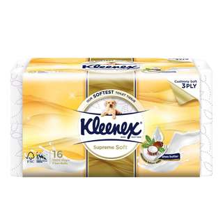Kleenex Bathroom Tissues - Supreme Soft (3 Ply)