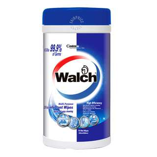 Walch Multi-Purpose Disinfectant Wipes