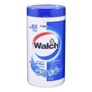 Walch Disinfectant Wipes are clinically proven to be effective against bacteria and kill 99.9% germs on hard and non-porous surfaces when used as directed.