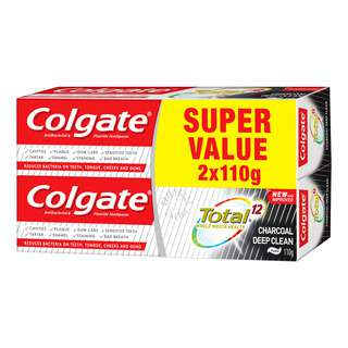 Colgate Total Toothpaste - Charcoal Deep Clean