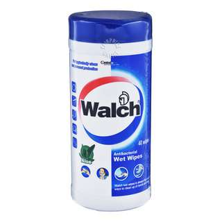 Walch Antibacterial Wet Wipes