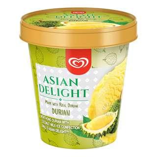 Walls' Asian Delight Ice Cream - Durian