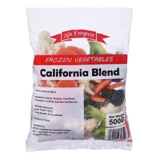 Asia Evergreen Frozen Vegetables - California Blend