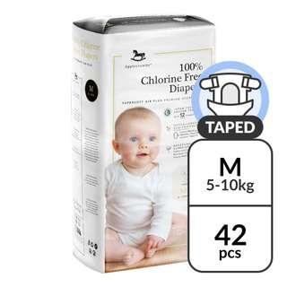 Applecrumby Premium Baby Diapers - M (5 - 10kg)