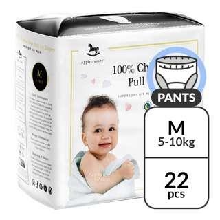 Applecrumby Premium Baby Pants - M (5 - 10kg)
