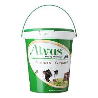Alvas Natural Yoghurt