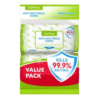 FairPrice Anti-Bacterial Wet Wipes
