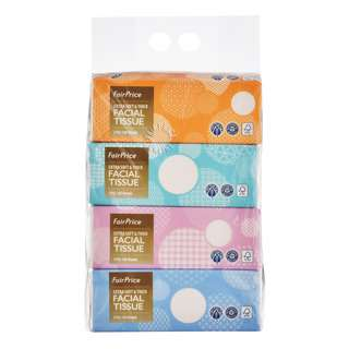 FairPrice Facial Tissues - Extra Soft & Thick