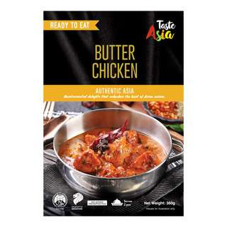 Taste Asia Ready To Eat Meal - Butter Chicken