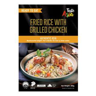 TASTE ASIA FRIED RICE WITH GRILLED CHICKEN 260G