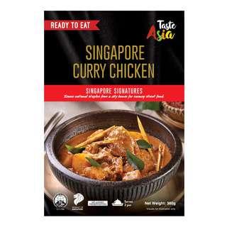 TASTE ASIA SINGAPORE CURRY CHICKEN 360G