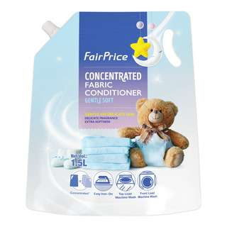 FairPrice Concentrated Fabric Conditioner - Gentle Soft