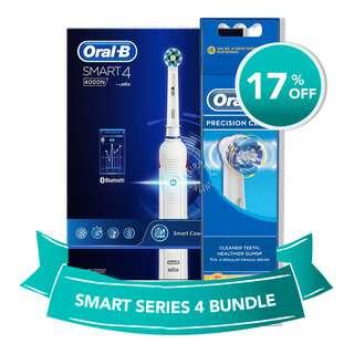 Oral-B Smart Series + Precision Clean Refill Bundle